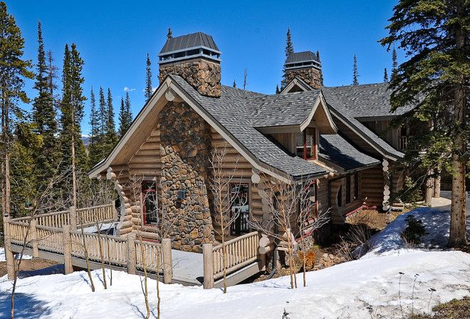 Exterior: 1000+ Ideas About Mountain Home Exterior On Pinterest