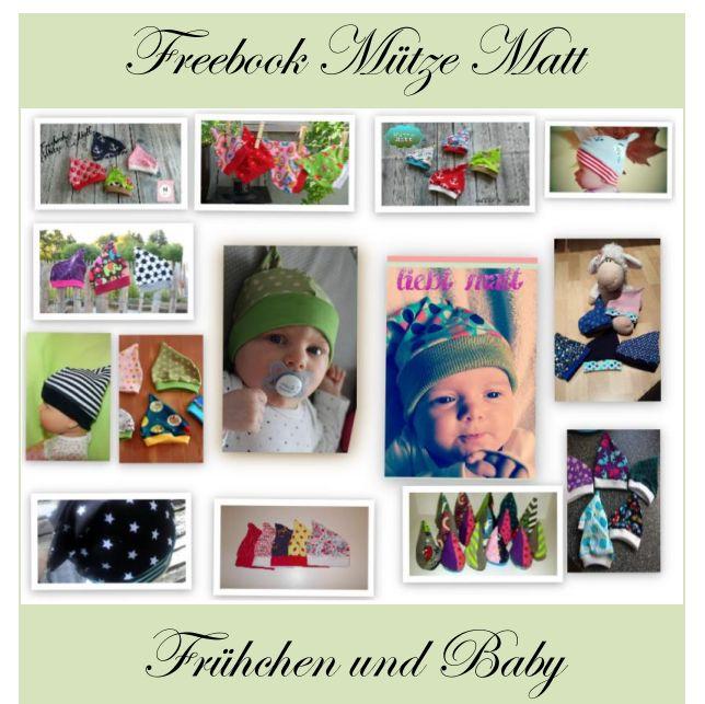 Mütze Matt für Baby's und Frühchen ist fertig. KU 28 – 46 cm das besonders tolle ist ,dass man die Babymütze auch mit einem Schirm nähen kann