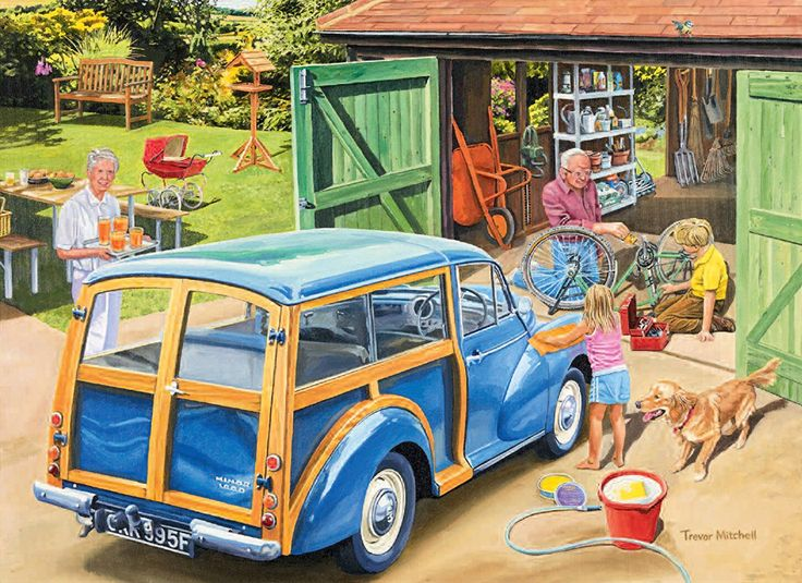 Ravensburger Day with Grandpa and Grandma 2x 500pc Jigsaw Puzzle: Amazon.co.uk: Toys & Games