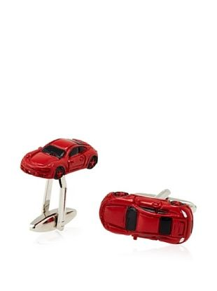 53% OFF Link Up Red Sports Car Cufflinks