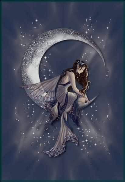 Meciendome en la luna