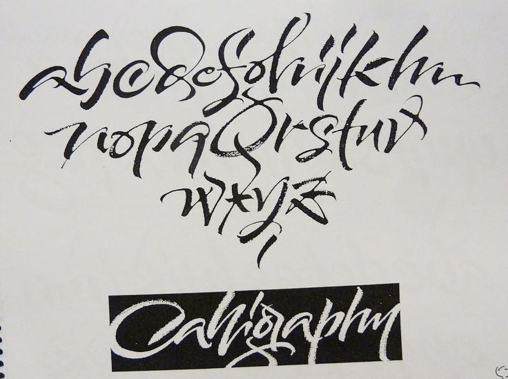 Letterlady's Letters: Carl Rohrs Brush Lettering Workshop