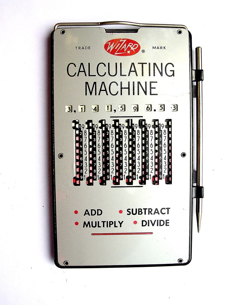 Mechanical Calculators Old school
