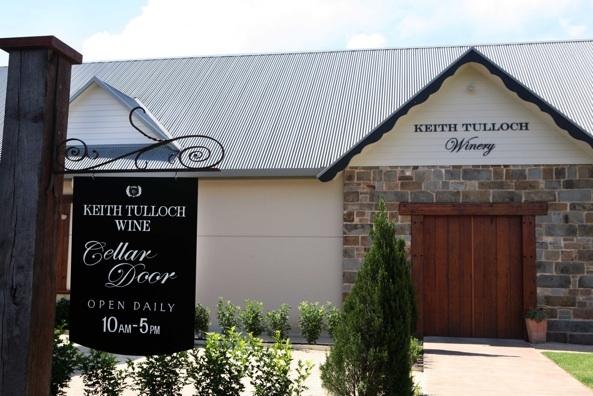 Newly built Keith Tulloch cellar door