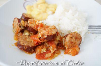 Le rougail de saucisses de Maman... au Cookéo