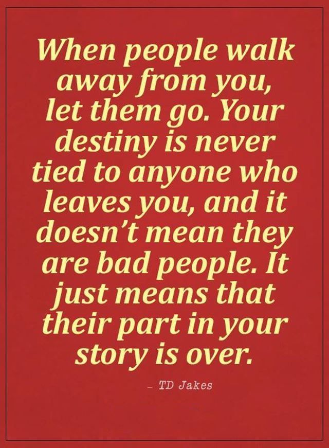 Sad Love Quotes When People Walk Away From You Let Them Go Quote