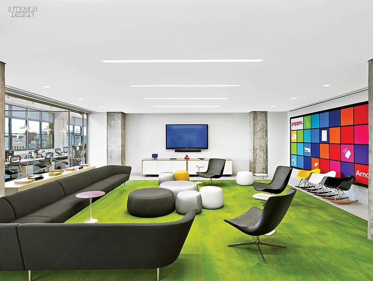 The creative class 4 manhattan tech and media offices for Office interior design magazine