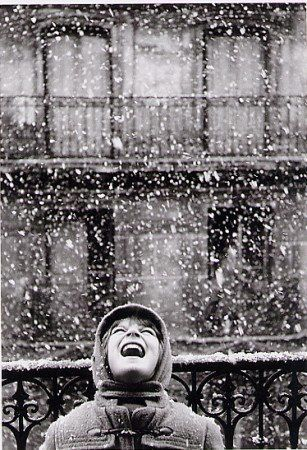 Florence sous la neige, Paris, Edouard Boubat