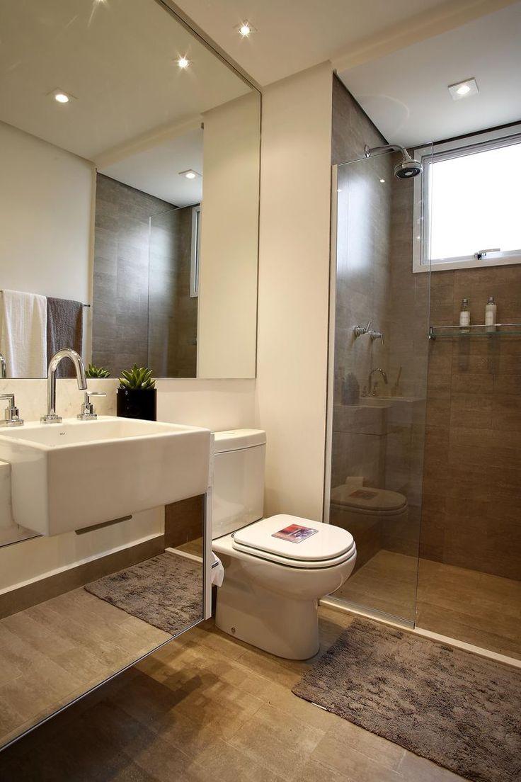 25 melhores ideias sobre banheiros modernos no pinterest for Pisos pequenos modernos
