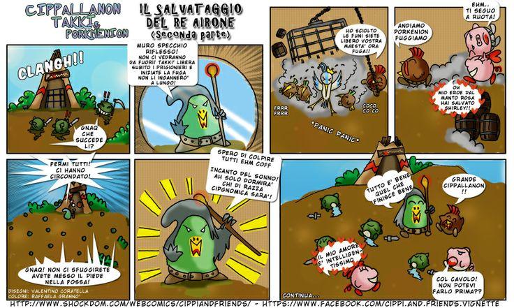 [#17] Tales of Cippannara: Il salvataggio del Re Airone (seconda parte)