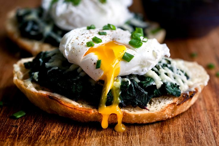 NYT Cooking: Beet Greens Bruschetta With Poached Egg and Fontina
