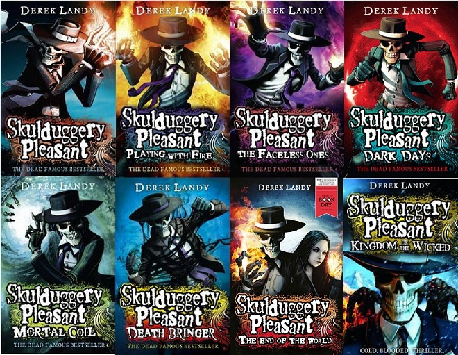 Skulduggery Pleasant - one of my favorite series, I still have to read the last book!