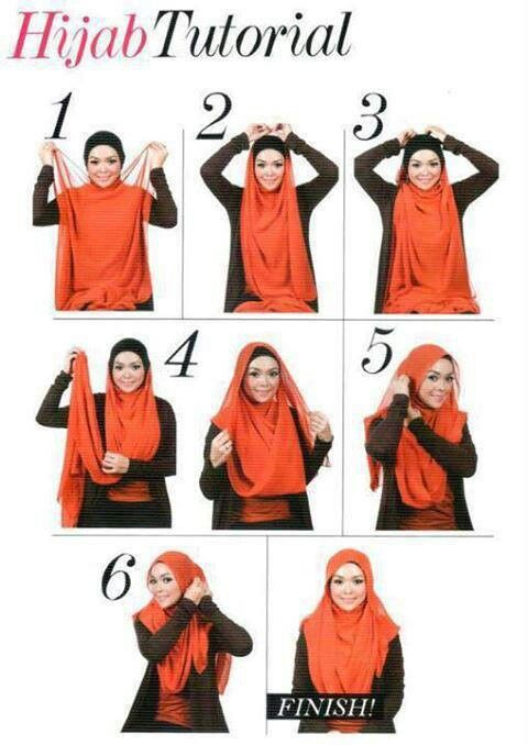hijab tutorial would work well with dupatta