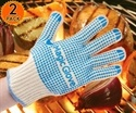 dailysteals.com: 2-Pack Flame Resistant Magic Gloves with No-Slip Silicon Grips – Withstand Extreme Heat Up To 480 Degrees  for $10