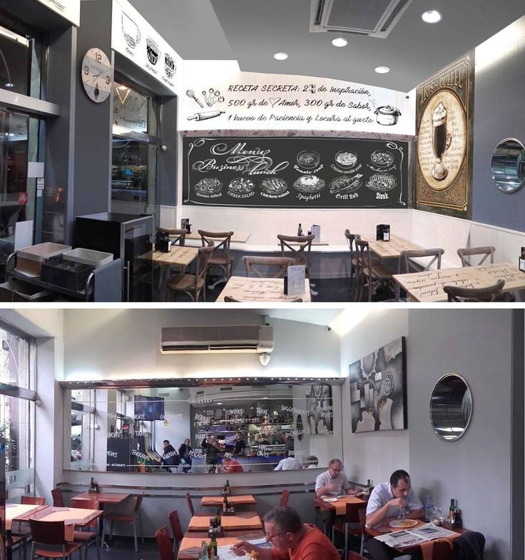 Reforma de restaurante por Nieves Miranda