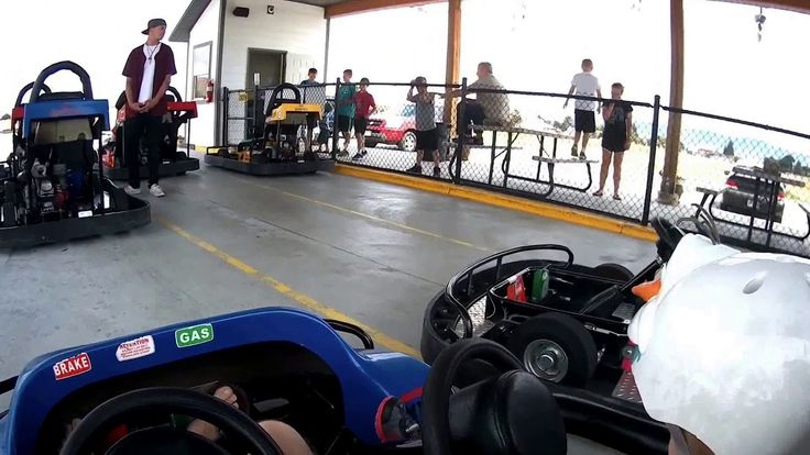 Kids Outdoor  Go-Karts  part 1