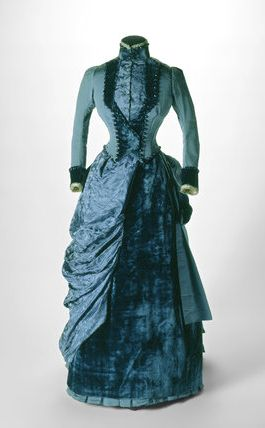 "Victorian 1884 #historical #costume ""Derailment of Hearts"" I see Gladys wearing this for her household duties."