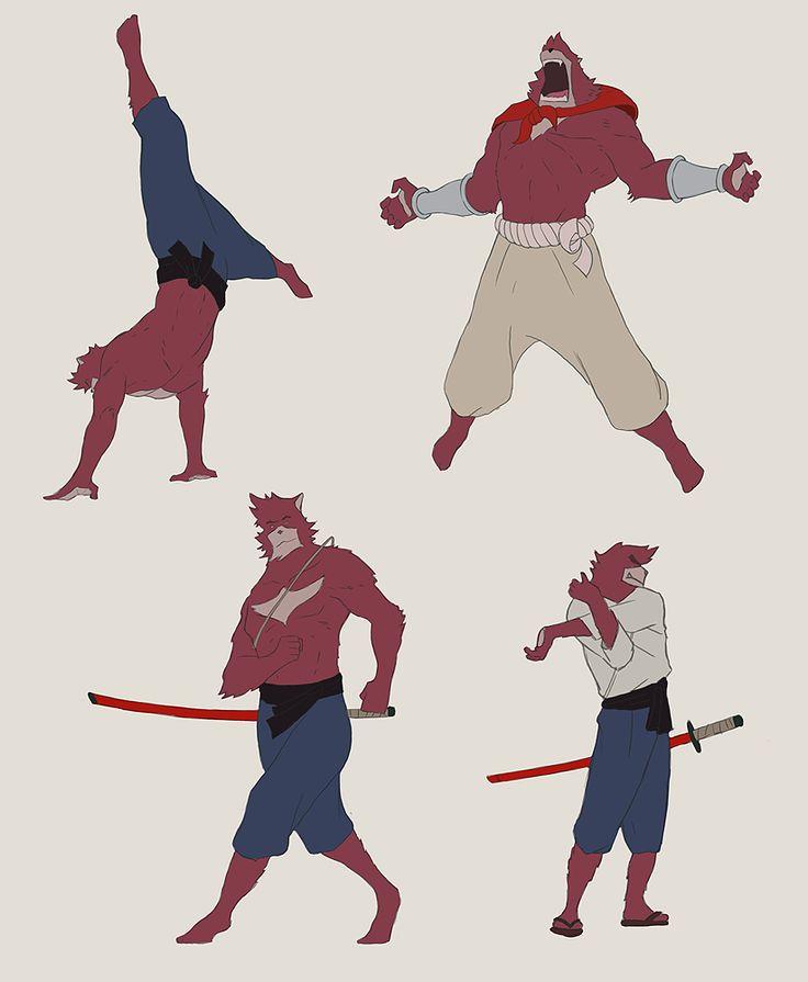 The Boy and the Beast #Kumatetsu (by gavku)