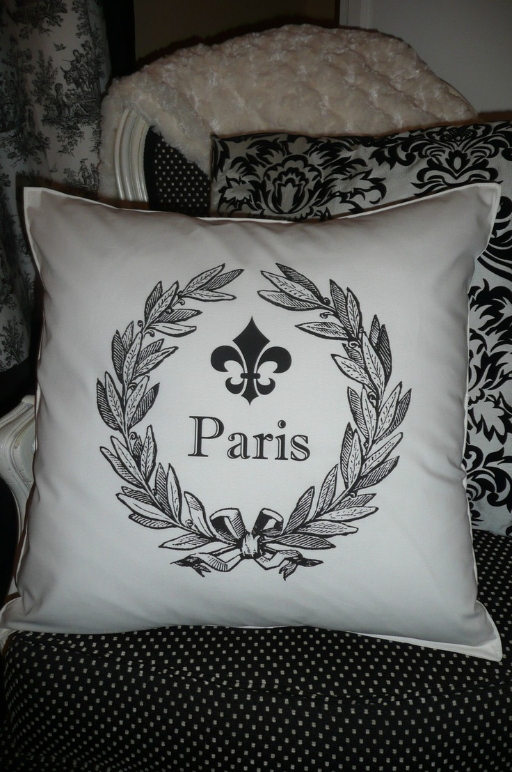Paris Pillow Cover & 101 best *pillow talk* images on Pinterest | Cushions Luxury bed ... pillowsntoast.com