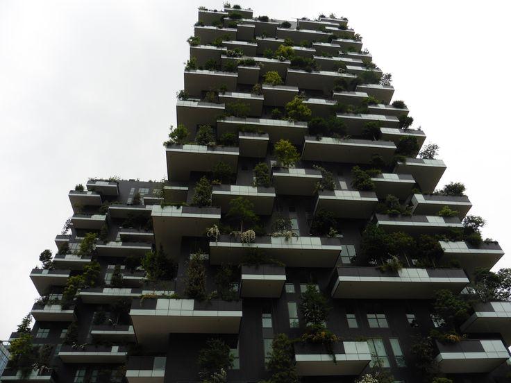 Bosco verticale, Milano, Italy