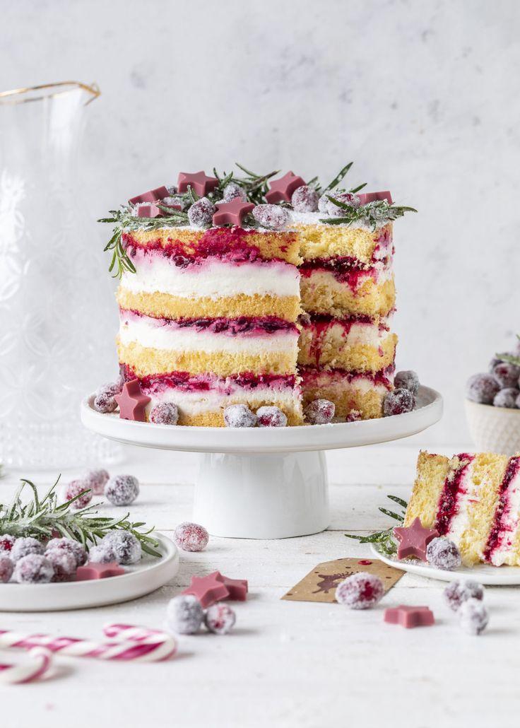 Delicious Cranberry Biscuit Cake Rezept Torte #Cake #Cranberry #Backen #Lay …   – Emma's Lieblingsstücke