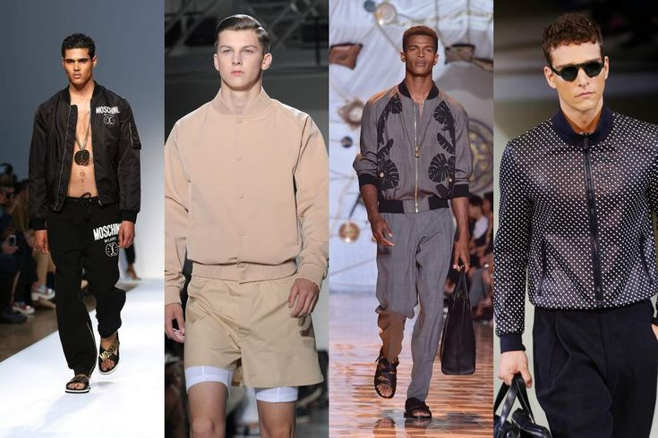 Bombers On -. Men's Fashion