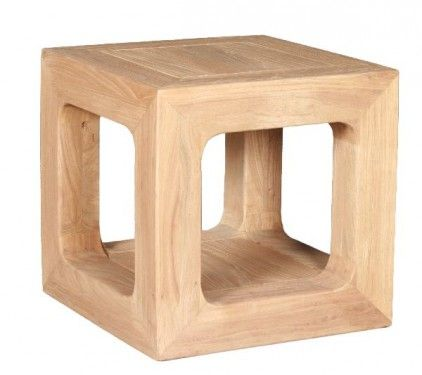 Hollow Cube Coffee Table