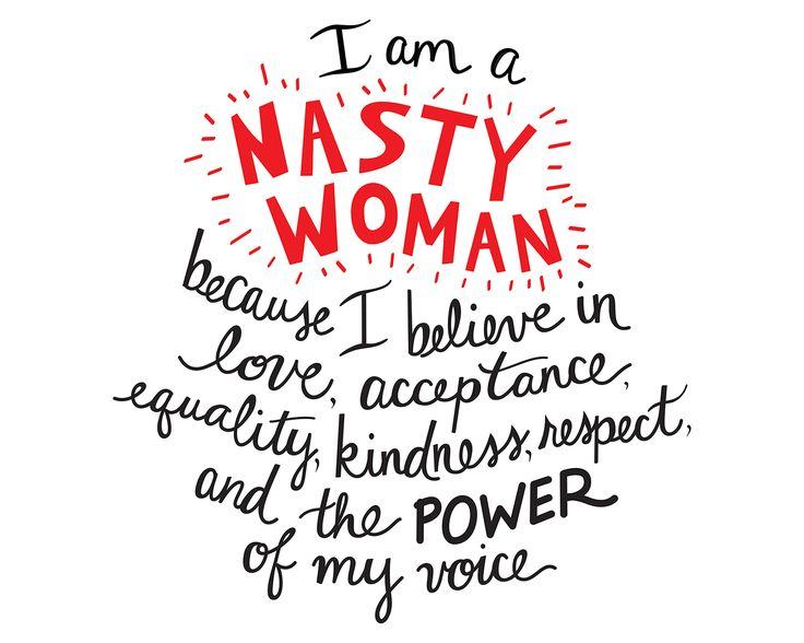 """Nasty Woman"" 