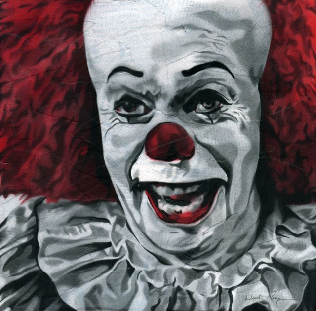 best pennywise images horror movies evil clowns pennywise