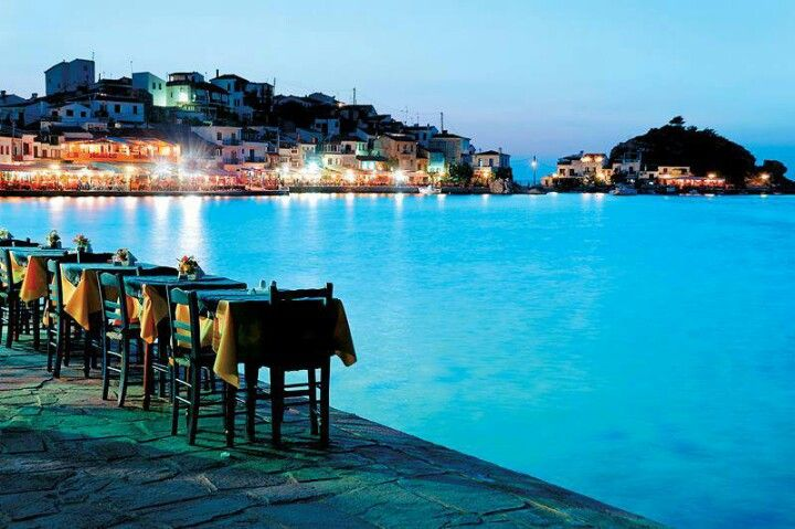 Samos dinner... Sweet and romantic!