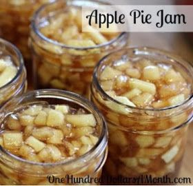 Easy Homesteading: Apple Pie Jam Canning Recipe...this would be so good with cinnamon bread in the fall. Yum!!