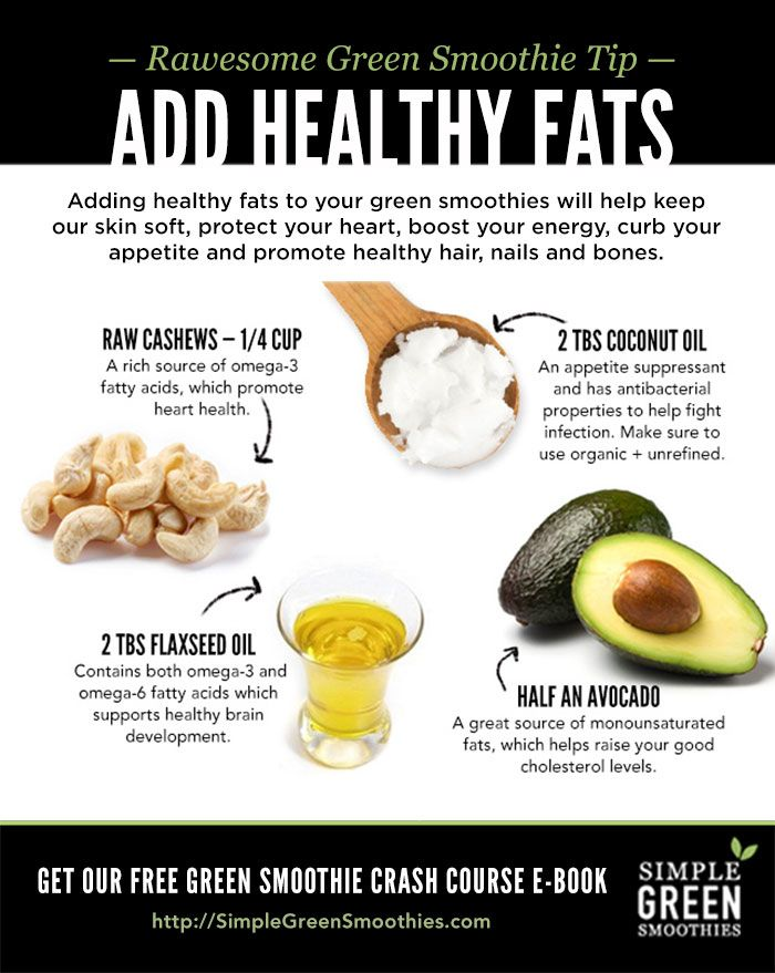 healthy ways to add fat to your diet
