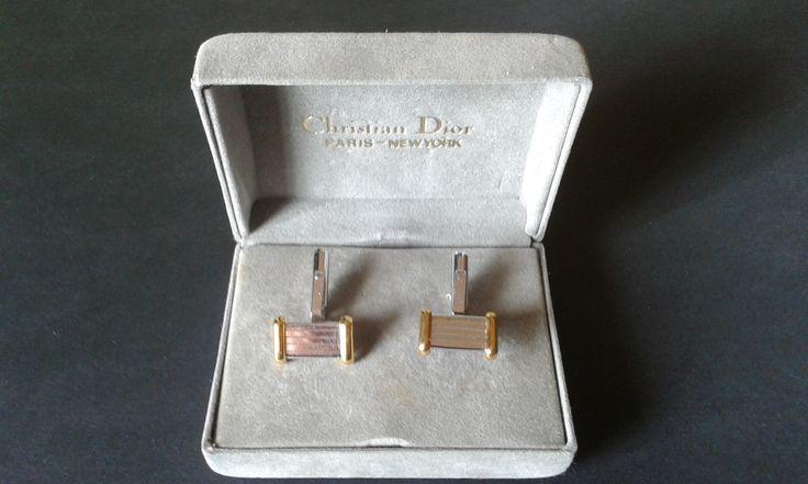 Botões de Punho - Christian Dior Sterling Silver