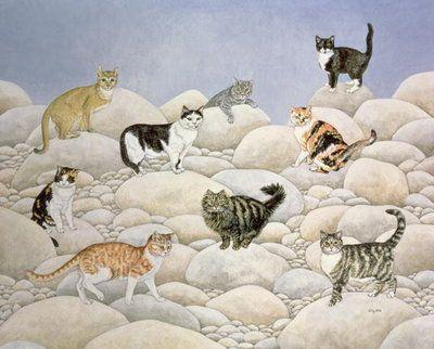 Lynn Valley Cats by Ditz