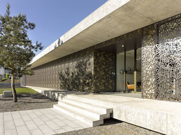 Perforated Facade Cladding CELLON from Bruag
