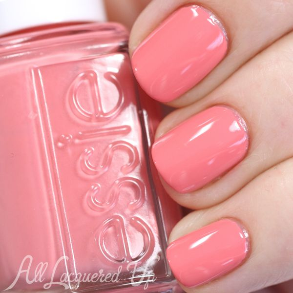 Pastel Orange Nail Polish Essie: Essie Resort 2015 Swatches & Review