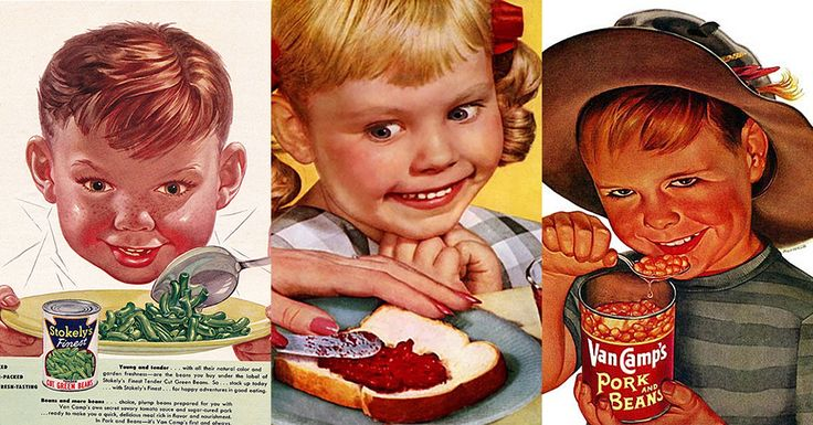 MeTV Network | 14 vintage ads with creepy children that will make you laugh out loud
