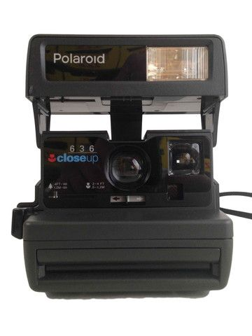 Polaroid Camera – Junkie Charity Store #Polaroid #Vintage