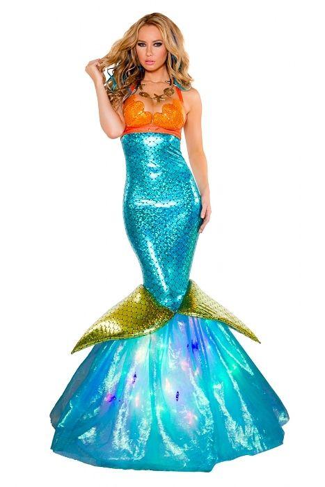 Sexy Meerjungfrau Kostüm Kleid Judy - Kaufen bei dressme24.com