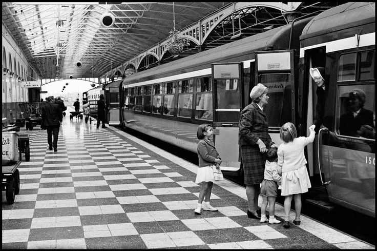 Dublin. 1964. Kingsbridge Station.