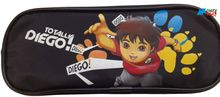 Diego Plastic Pencil Case Pencil Box - Black