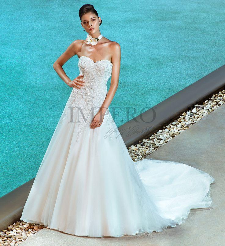 EVA  #sposa #abiti #dress #bride #bridal #wedding #2017 #impero #matrimonio #nozze