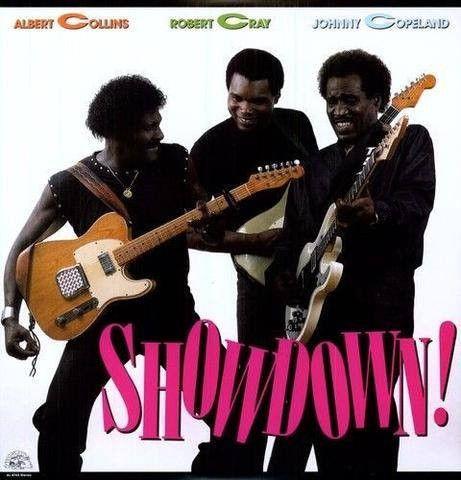 Albert Collins / Robert Cray / Johnny Copeland - Showdown - LP, Record, Vinyl