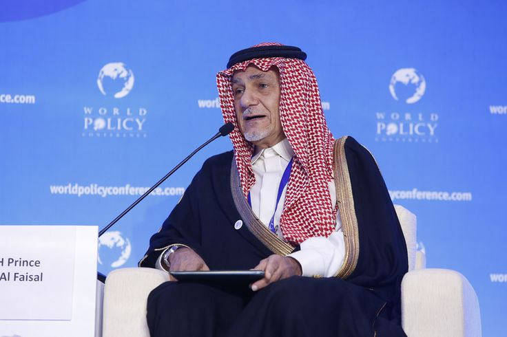 WPC 2014, Seoul - His Royal Highness Prince Turki Al-Faisal, Chairman of the King Faisal Center for Research and Islamic Studies (KFCRIS)