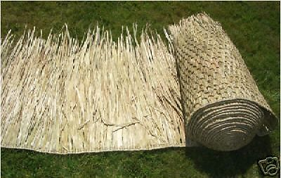 """36""""x 60' Duck Blinds Camo Hunting Grass boat Palm Leaf Thatch"""