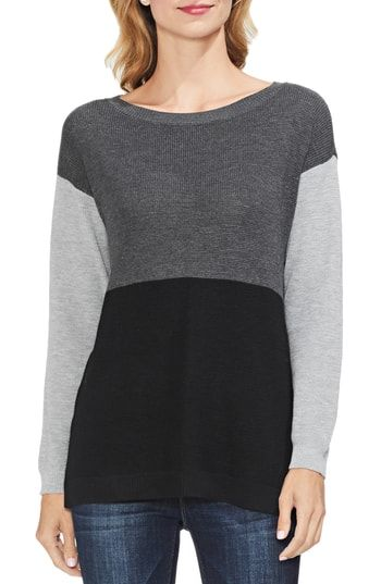 New Vince Camuto Colorblock Sweater Womens Fashion Sweater Online
