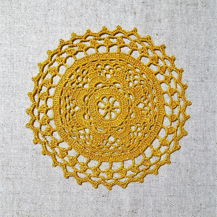 Excited to share the latest addition to my #etsy shop: 40% off; READY TO SHIP; Small golden crochet doily; Christmas decoration by VerLen Crochet #housewares #homedecor #housewarming #christmas #gold #crochetdoily #crochettablecloth #lovecrochet #crochê #verlencrochet #sale #christmassale #doily http://etsy.me/2yFgrar