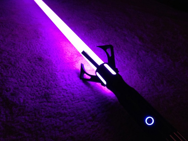 Lightsaber purple