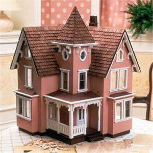 Fairfield Dollhouse Kit (1/2 Scale) - The Magical Dollhouse  Check out : missdollhouse.com