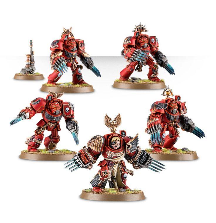Blood Angels Terminator Assault Squad | Games Workshop Webstore